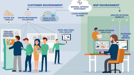Infographic: How Frictionless SD-WAN Ensures MSP Success