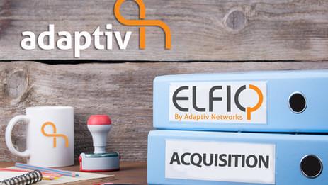 Adaptiv Networks Acquires ELFIQ Networks