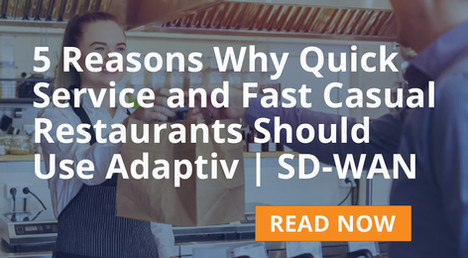 QSR and Fast Casual Restaurant Solution Brief