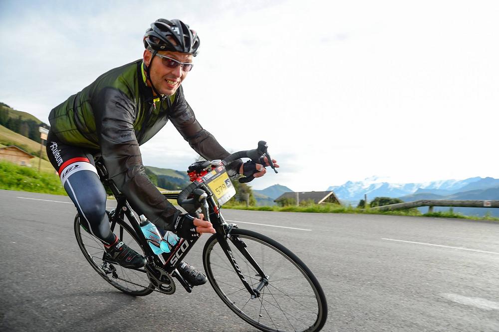 Avid cyclist and Adaptiv Networks CEO, Bernard Breton