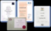 Ian Tait CIPS Certificates.png