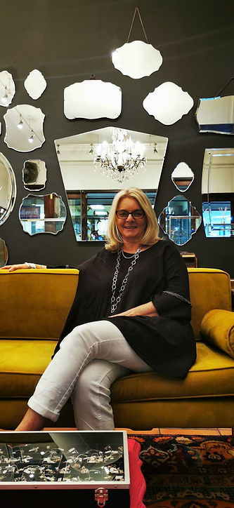 Julie Tilman, Owner of Lali Silver Jewellery and talented jeweller