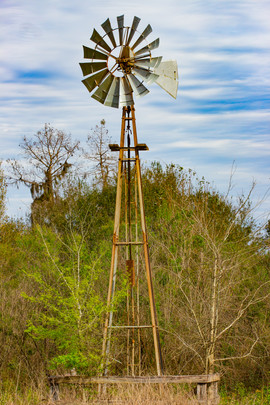 Old Windmill, Circle-B-Bar, Lakeland, Fl