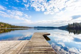 Dock and reflection on Lake.jpg