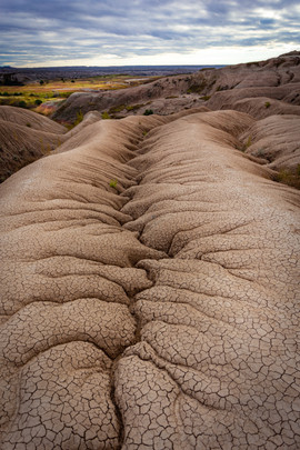 Cracks in the Earth, Badlands National P