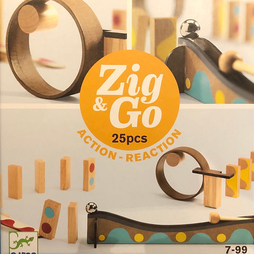 Zig & GO Action-réaction