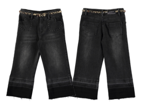 Pantalon jean ceinture