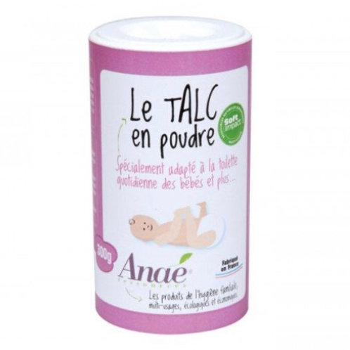 Talc en Poudre pour Bébé - 300 g - Anaé