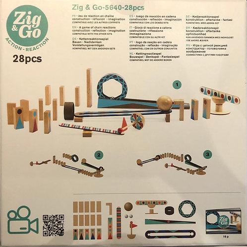 Zig & GO Action-réaction