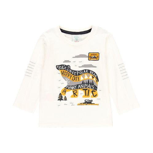 T-shirt Ours - garçon