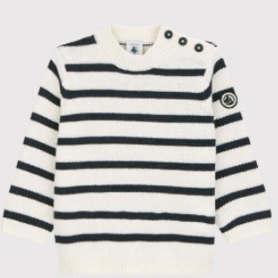 Pull laine & cotton