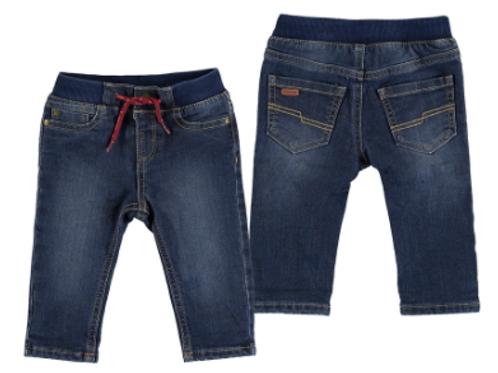 Pantalon jean regular doublé