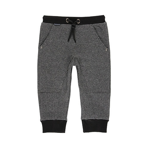 Pantalon maille Anthracite - garçon