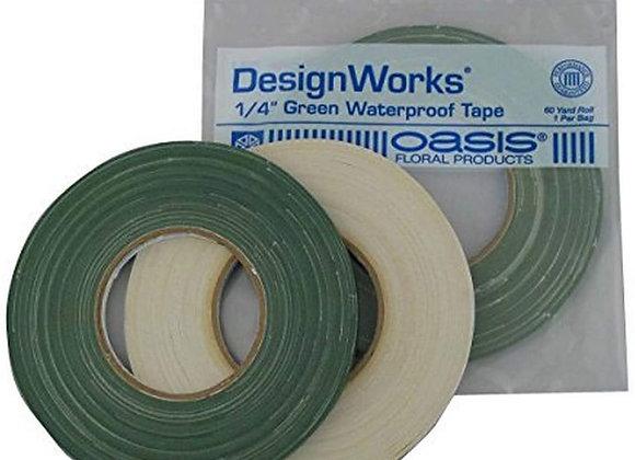 """OASIS 1/4"""" Green Waterproof Tape"""
