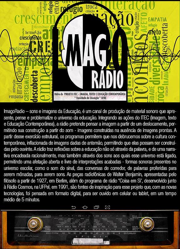 Imago Rádio - ITEC - FE - Ufrj