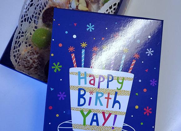 Happy Birthday Box 15 Mixed Brigadeiros