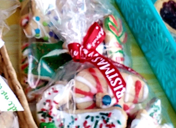 Bag of Christmas Spice Cookies