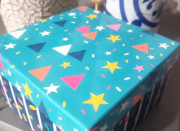 Gift Box Blue 9 Brigadeiros