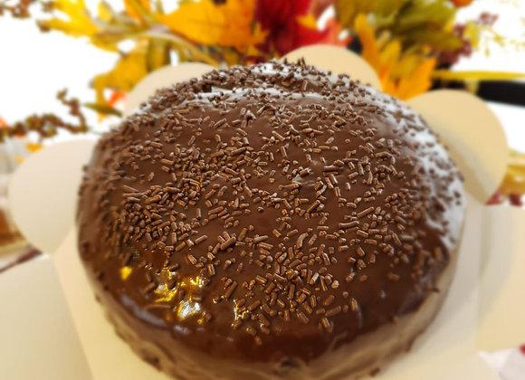 Dark Chocolate Round Cake