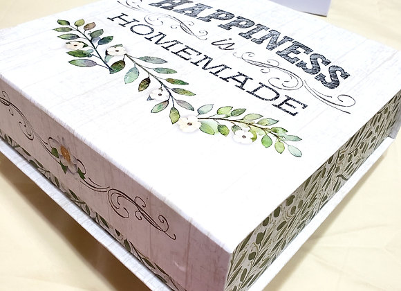 Happiness - Deluxe Large Gift Box with 20 Brigadeiros