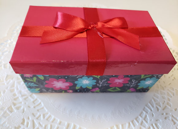 Red Gift Box with 6 Brigadeiros