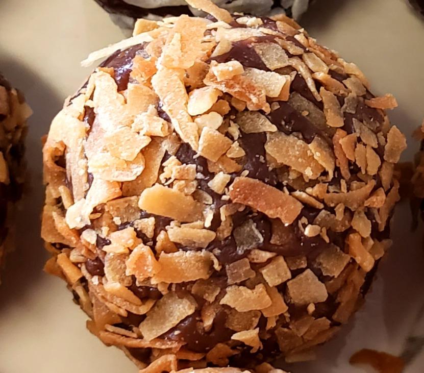 Dark Toasted Coconut