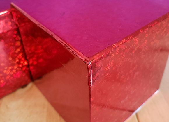 Red Gift Combo Box with 5 Brigadeiros Classic