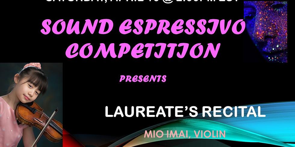 Mio Imai - Sound Espressivo Laureates' Recital