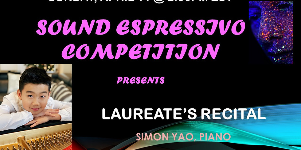 Simon Yao - Sound Espressivo Laureates' Recital