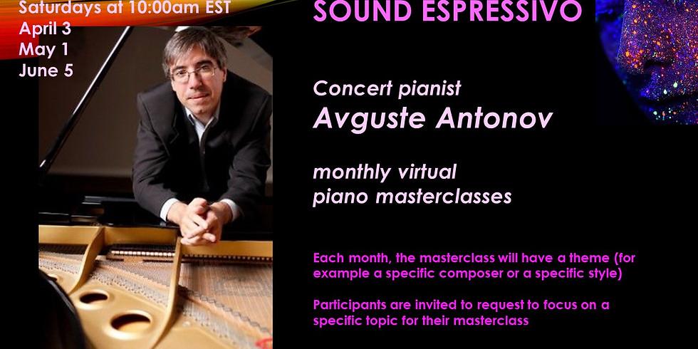 Piano Masterclass with Avguste Antonov