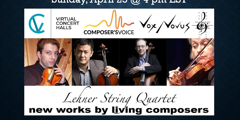 Lehner Quartet presents newly written works by living composers