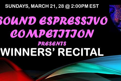 Sound Espressivo Winners' Concert
