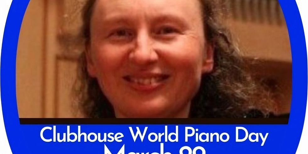 The world's first Clubhouse World Piano Day