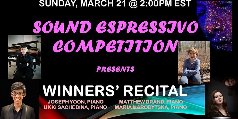 Sound Espressivo Winners' Recital