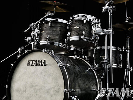 Tama Star Walnut Satin Charcoal Japanese