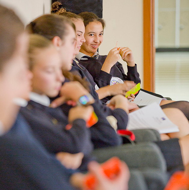 Swans Secondary School. Careers presentation.