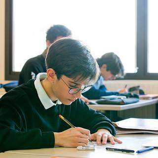 Swans Secondary School. Maths lesson.