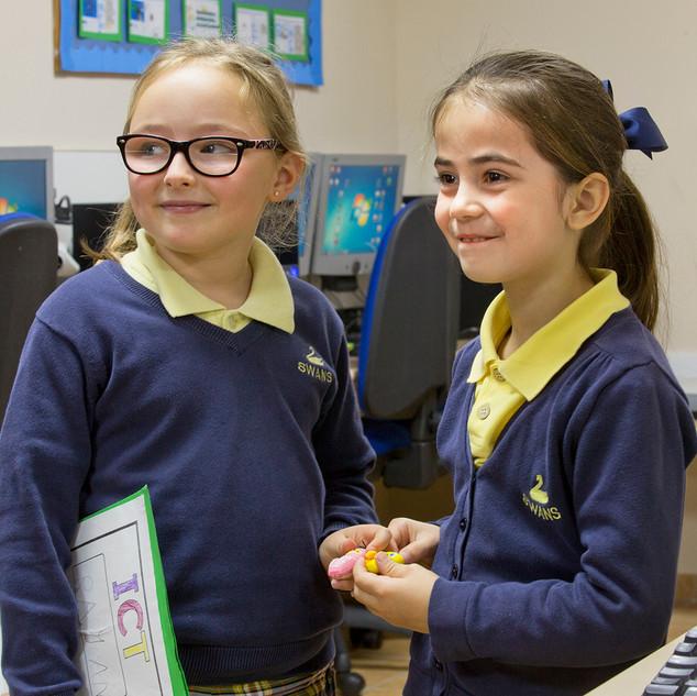 Swans Primary School. ICT