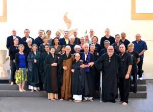 Kathy's Tokudo (Ordination) Ceremony SPZG 12.7.13