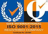 ISO 9001:2015 Registered Company