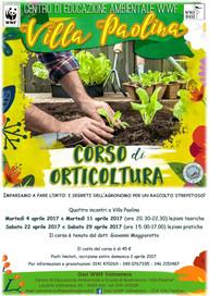 CORSO DI ORTICOLTURA Aprile 2017