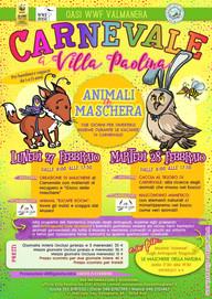 Carnevale a Villa Paolina, 27 e 28 febbraio