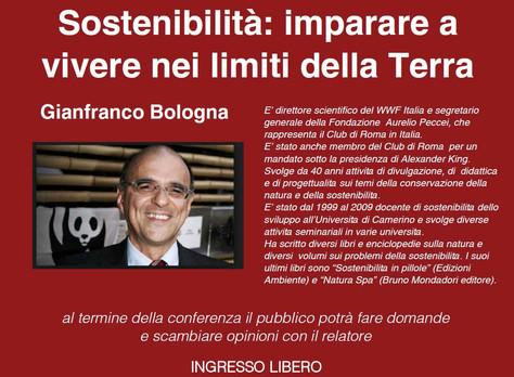 Conferenza Gianfranco Bologna, 18 marzo