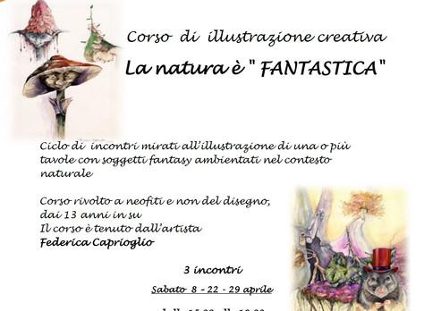 Corso di illustrazione creativa, 8 - 22 - 29 aprile