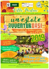 CENTRO ESTIVO 2019 - un'estate AvventurOasi