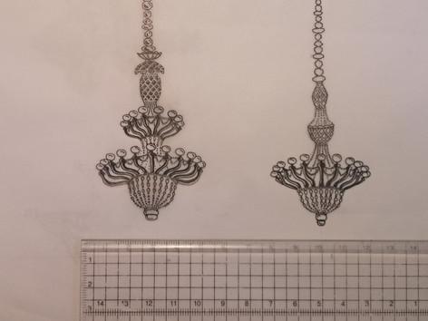 Scale Chandeliers for Nicky Shaw - La Cenerentola, INO