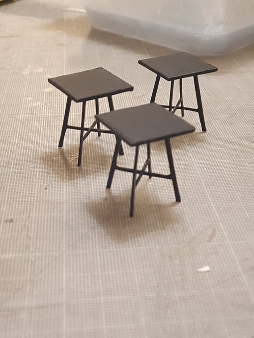 Cafe Tables for Nicky Shaw