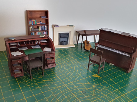 Selection of Furniture made during Lockdown 2020