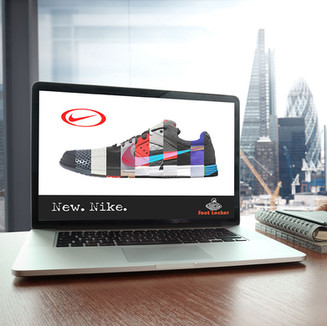 Nike/FootLocker Interactive Ad