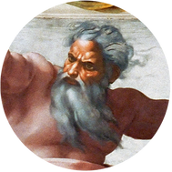 MICHELANGELO - CREATION OF SUN & MOON
